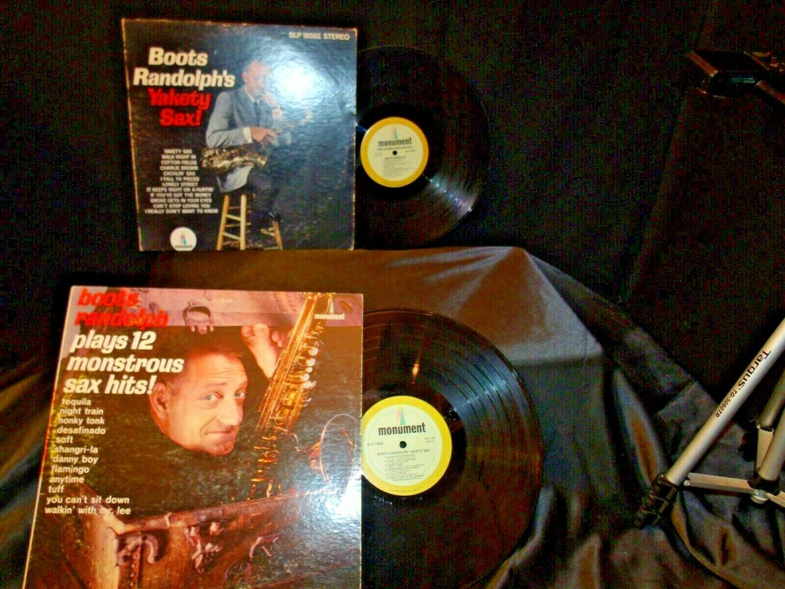 Boots Randolph Yakety Sax SLP 1800 + 12 Monster Sax Hits AA-192004 Vintage Colle