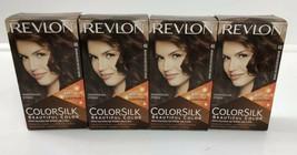 4 Revlon Colorsilk #46 4GM Medium Golden Chestnut Brown Hair Color Dye Perm - $18.80