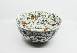 Vintage Chinese Decorative Bowl, 12 inches wide - - $123.75