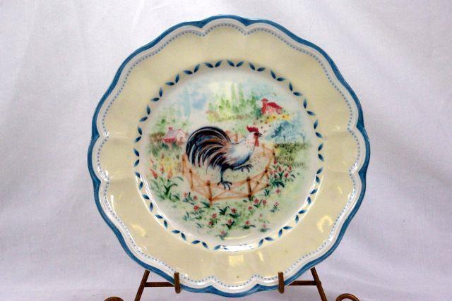Lenox Provencal Garden Rooster Salad Plate