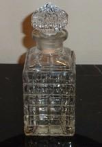 "VINTAGE GABILLA LA VIERGE FOLLE 1930'S PERFUME BOTTLE 5 7/8"" TALL - $65.00"