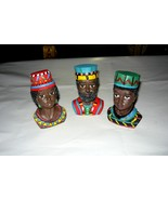 A Royal African Family Figure Heads - $10.00