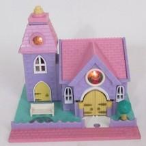 1993 Polly Pocket Wedding Chapel Vintage Lot Bluebird Toys - $60.00