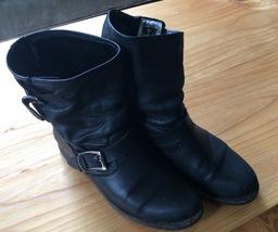Frye Veronica Slouch Black Size 8