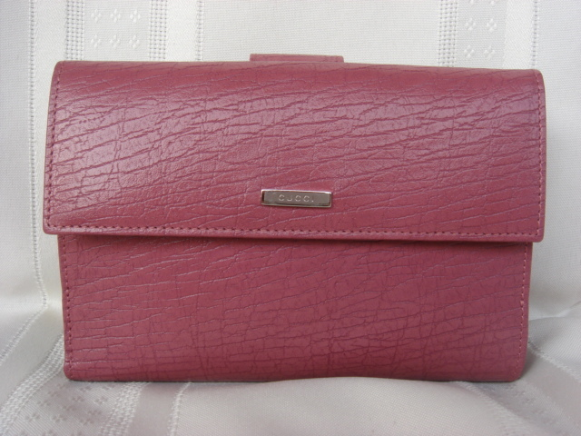 Gucci Rose Leather Wallet $350+