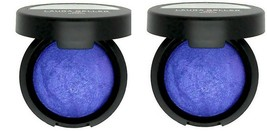2 x Laura Geller Baked Pearl Eyeshadow - Tribeca Blue (electric cobalt) New Lot - $10.99