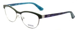 GUESS GU2523 098 Women's Eyeglasses Frames 52-15-135 Green / Silver  + CASE - $39.85