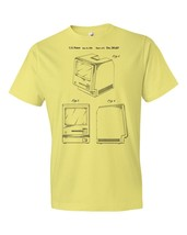 Original Apple Macintosh Computer T-Shirt Patent Art Gift Pc Technology ... - $18.95+