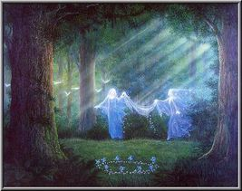 FULL COVEN 27X SEE SPIRITS DJINN GUIDES CRYSTAL EYE MAGICKAL WORK 99 YR ... - $38.00