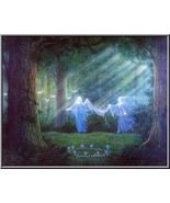 FULL COVEN 27X SEE SPIRITS DJINN GUIDES CRYSTAL EYE MAGICKAL WORK 99 YR Witch  - $38.00
