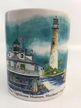 OTAGIRI Coffee Mug Tea Cup Lighthouses Kurt R Kress Stanley Papel Yaquin... - $19.59