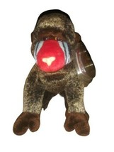 TY Beanie Baby - CHEEKS the Baboon (6 inch) -Stuffed Animal Toy Tag Cover - $4.94
