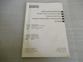 2009 Honda Marine Installation Instruction Manual 87995-ZZ5-760 - $17.56