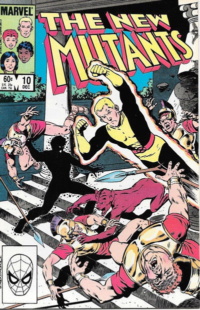 Primary image for The New Mutants Comic Book #10 Marvel Comics 1983 FINE NEW UNREAD