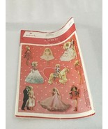 RARE! VINTAGE 1994 MATTEL STICKERS WITH BARBIE & KEN BY HALLMARK LOT OF ... - $29.65