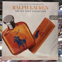 Polo The Big Pony 4 By Ralph Lauren For Men 4.2 Oz + 2.93 Deo Stick Set - $128.98