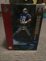 Peyton Manning Colts McFarlane Action Figure 12 Inches NFL Series 2 - $90.00