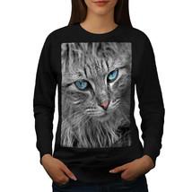 Furry Cute Adorable Cat Jumper Pussy Cat Women Sweatshirt - $18.99