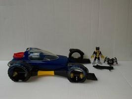 Fisher-Price Imaginext Transforming Batmobile Batman Car DC Vehicle figure - $19.34