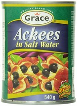 Grace Ackee in Salt Water Cans, 19 Ounce (2 cans) - $29.69