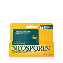 Neosporin Original Antibiotic Ointment, 24-Hour Infection Prevention for... - $8.73
