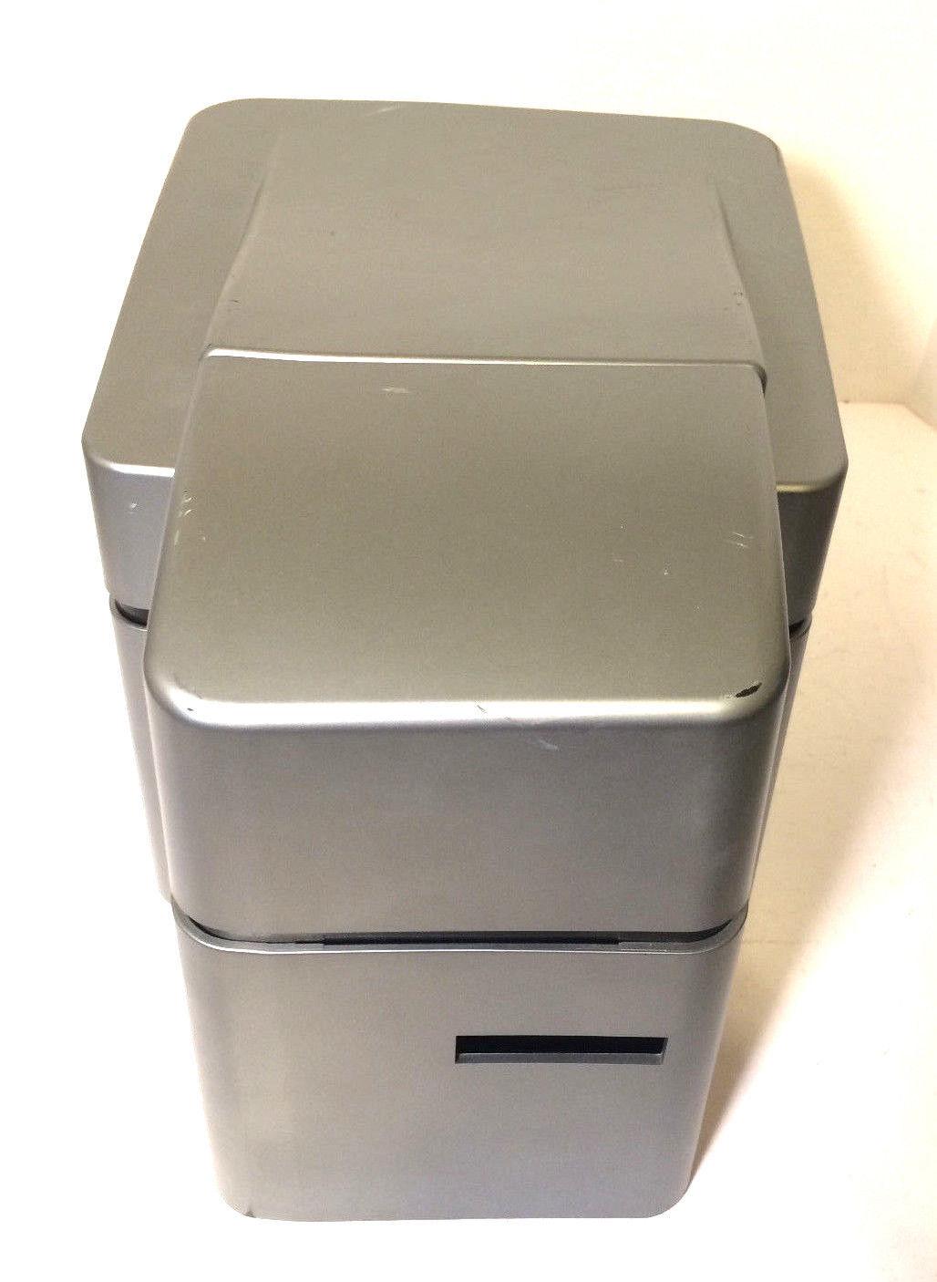 HID Fargo DTC1000 Dual Sided ID Card Printer USB 47100 Tested