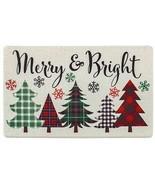 "ANTI-FATIGUE NONSLIP FLOOR MAT (18""x30"")WINTER MERRY & BRIGHT,CHRISTMAS ... - $24.74"