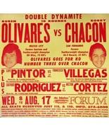 RUBEN OLIVARES vs BOBBY CHACON 8X10 POSTER PHOTO BOXING PICTURE - $4.94