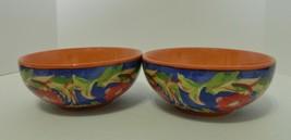 Pfaltzgraff Villa Della Luna Scroll Soup Cereal Bowls Jana Kolpen Mary Tiegreen  - $21.66