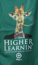 LRG Higher Learnin Black or Forest Green Men's Graphic T-Shirt Small NWT image 3