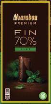 Marabou Premium 70% Cocoa Mint Chocolate 10 pack 1kg / 35oz - $64.35