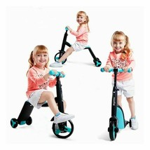 3 In 1 Balance Bike Children Bicycle Girl Boy Scooter Tricycle Baby Ride... - $121.97