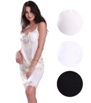 Illusion Women's Premium Nylon Full Slip With Lace Trim Adjustable Straps 2012