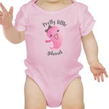 Pretty Little Ghoul Baby Pink Bodysuit - $13.99