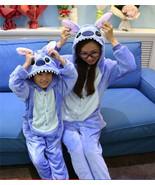 *Adult Animal-- Kigurumi Pajamas Costume Cosplay pyjamas Blue Stitch ang... - £23.40 GBP