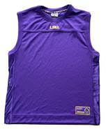 Vintage LSU Tigers Men's Sleeveless Shirt Size 2XL Colosseum College Equ... - $21.78