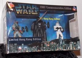 1997 Star Wars  Darth Vader, Boba Fett & Stormtrooper 3 Figure Set New In Box - $79.99