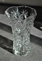 "Anchor Hocking EAPC, Large Hexagon Vase 10"" - Star of David Pattern - $18.69"