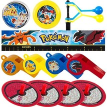 Amscan Pokemon Mega Mix Value Pack, Party Favor - $17.95