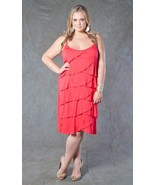 Sexy SWAK Designs Plus Size Miami Ruffles Party Cruise Club Dress, Glamo... - $50.67 CAD