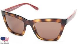 New Coach HC8208 L1635 545973 Dark Tortoise /BROWN Lens Sunglasses 55-19-140 B40 - $98.98
