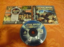 Star Wars: Episode I: Jedi Power Battle playstation black label - $14.84