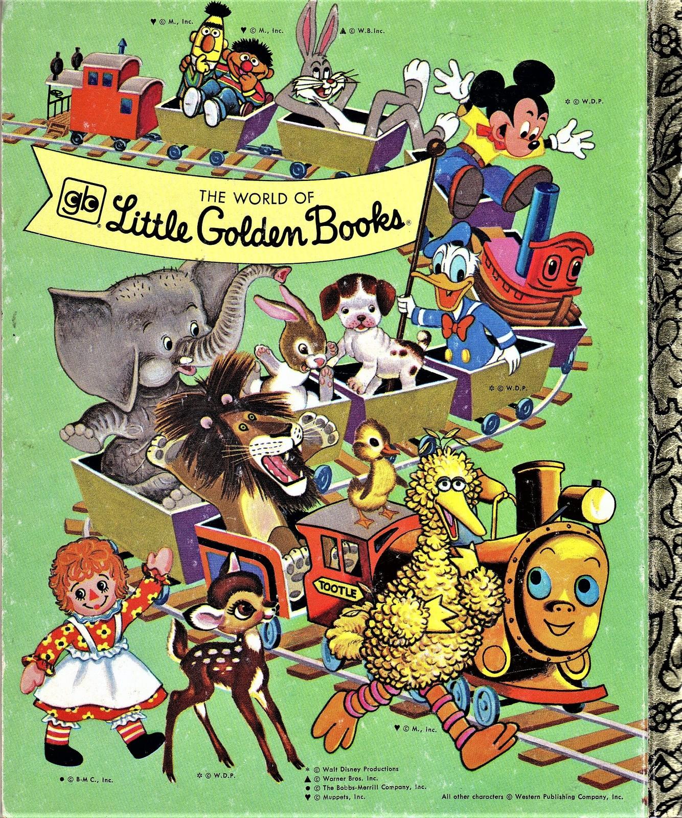 Little Golden Book - Peter Pan and Wendy (Walt Disney)