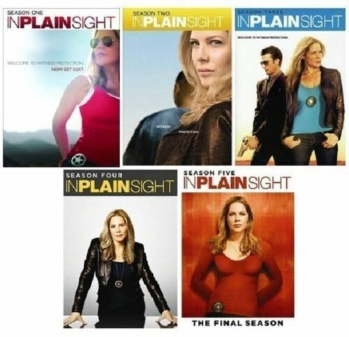 In Plain Sight The  Complete Series  Seasons 1-5 [DVD Sets New]