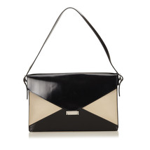 Pre-loved Celine Black Leather Diamond Shoulder Bag FRANCE - $699.91