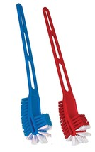 2 x Toilet Bowl Cleaning Hand Brush Plastic Long Handle Cleaner Double H... - $15.19