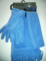 Relativity Ladies 3 Piece Scarf & Glove Set,Sky Blue - $18.55