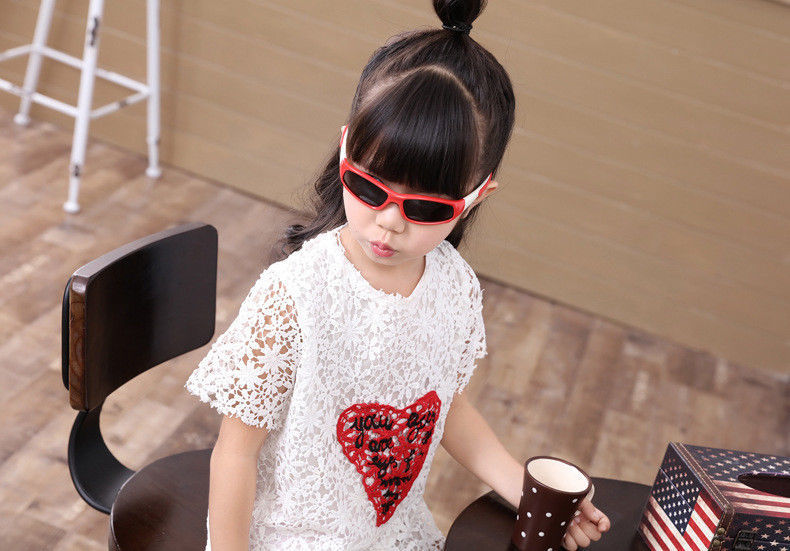 Kids Sunglasses Polarized Boys Girls UV400 Flexible High Quality Summer Glasses