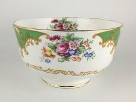 Royal Albert Albany Green Open Sugar Bowl  - $25.00