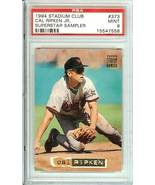 1994 stadium club cal ripken jr superstar sampler psa 9 graded 1/1 oriol... - $2,500.00
